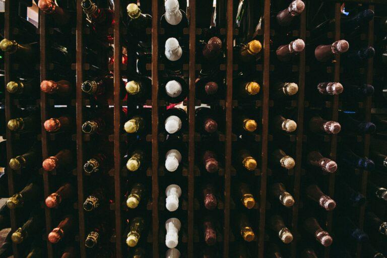 cave à vin en palette